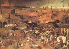 Bubonic Plague Painting