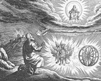 Ezekiel Visioning the Chariot of God