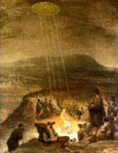 Baptism of Christ by Aert Gelder