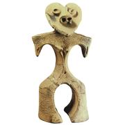 Alien astronaut shaped Jomon Figure