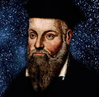 Portrait of Nostradamus