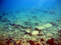 Submerged city of Pavlopetri