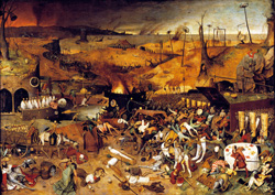 Black Plague, Pieter Bruegel