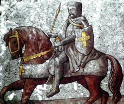 Knight Templar Fresco