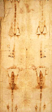 Imprint on the Shroud of Turin